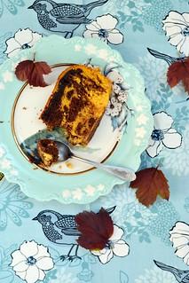 pumpkin chokolate  cake