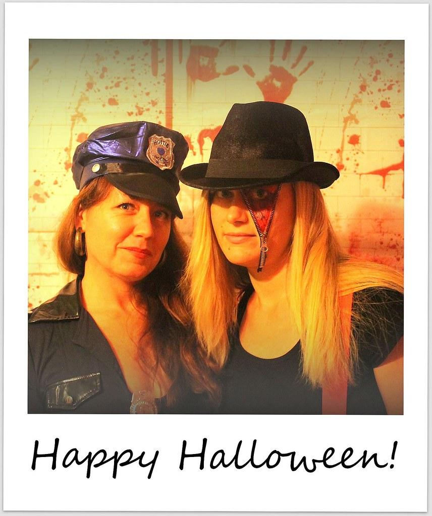 polaroid of the week chicago halloween