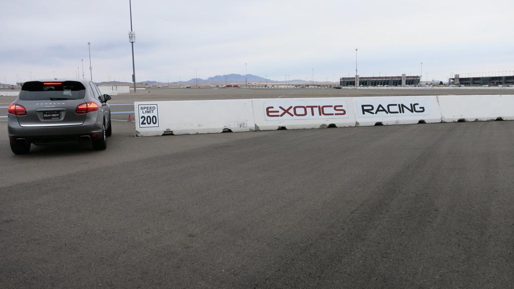 Exotics Racing speed limit