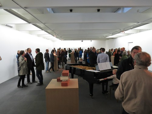 At the opening at Kunsthall Stavanger