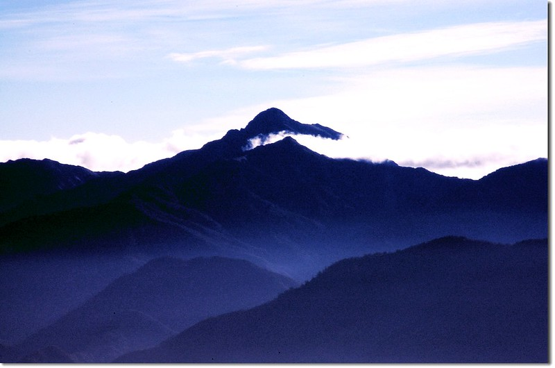中央尖山(From 大小劍連稜) 1