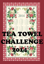Join me for the Tea Towel Challenge 2014