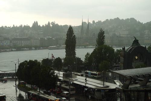 A Rainy Hour in Lucerne