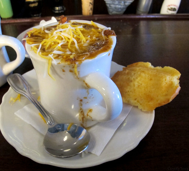 Beef, Beer & Sausage Chili with Corn Bread