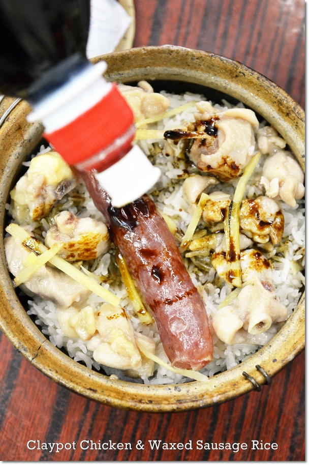 Claypot Chicken & Wax Sausage Rice