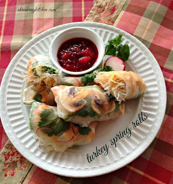Food Network Turkey Spring Rolls