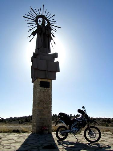 Virgen de la estrella en Javalambre