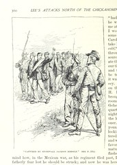 "Image taken from page 384 of 'Battles and Leaders of the Civil War, being for the most part contributions by Union and Confederate officers, based upon ""the Century War Series."" Edited by R. U. J. and C. C. B., etc. [Illustrated.]'"