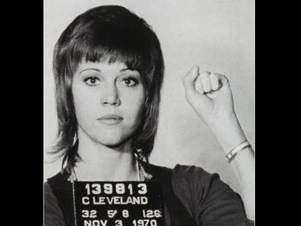 Jane Fonda presa (1970)