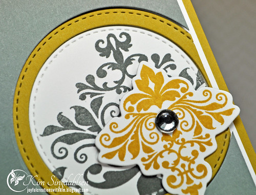 Damask Celebrate close-up