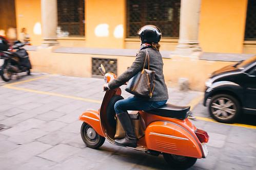 Orange Rider by huangb
