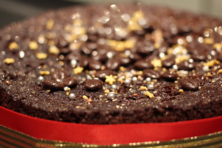 Christmas Spice Chocolate Fruit Cake