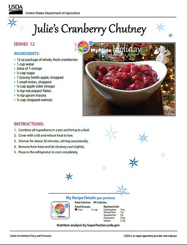 Julie's Cranberry Chutney recipe