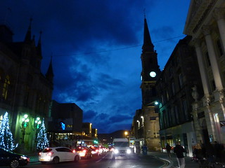 Inverness on a winter's afternoon