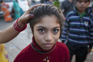 Girl in the market - Jaipur, India