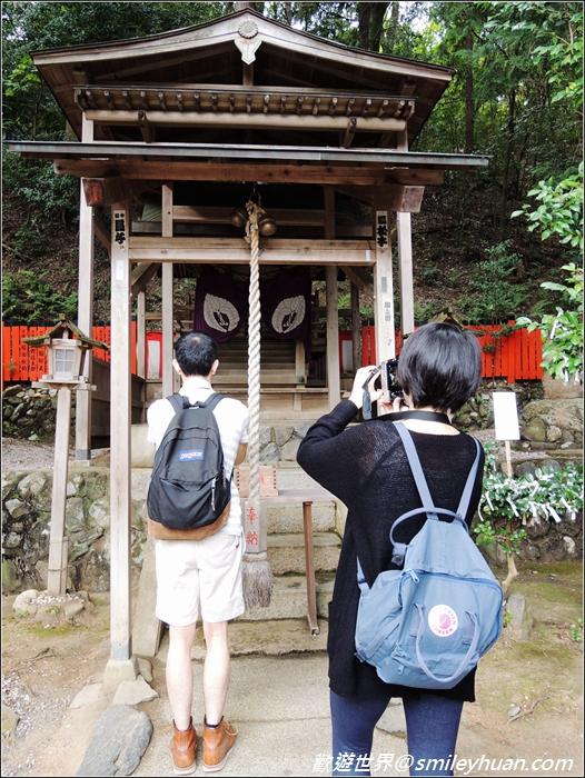嵐山~御髮神社