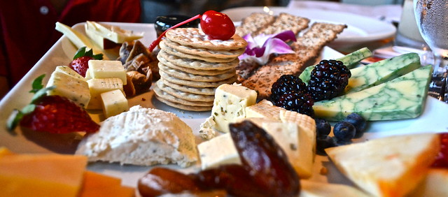 Jupiter Beach Resort - international cheese platter