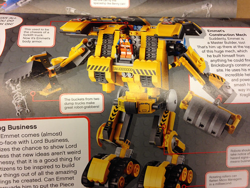 The LEGO Movie Emmet's Construction Mech