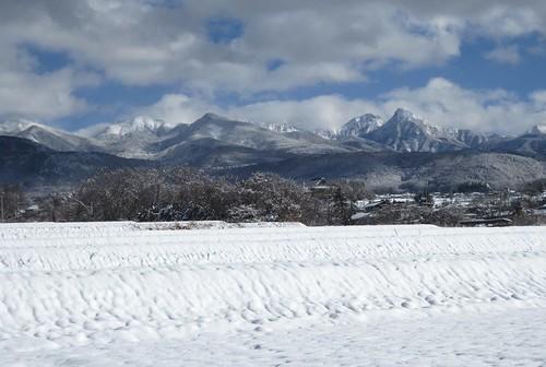 新年の八ヶ岳連峰 2014年1月10日13:27 by Poran111