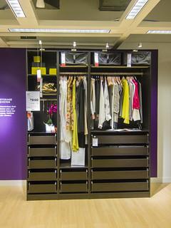 What a great wardrobe unit - PAX Wardrobe