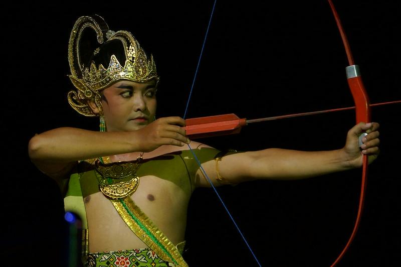 Performer at Ramayana Ballet