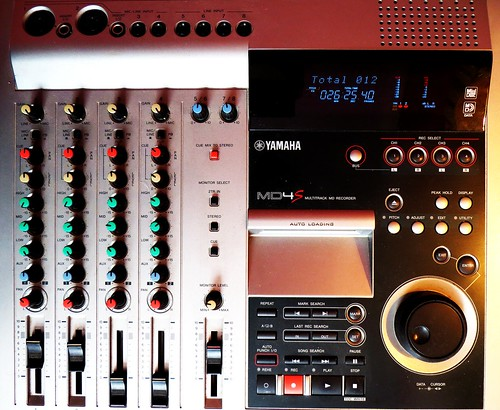 Yamaha-multitrack-recorder-MD4S