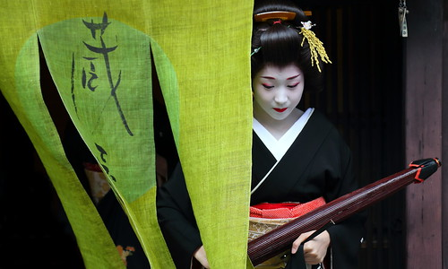 2014 新春京都紀行  上七軒 新年挨拶回り その1    New Year Days in Kyoto --- New Year Greetings in Kamishichiken