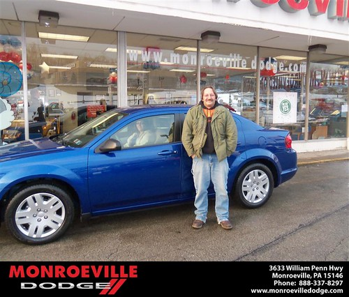 Happy Anniversary to Adam Andrew Suhajda on your 2013 #Dodge #Avenger from Ronald Mcclelland  and everyone at Monroeville Dodge! #Anniversary by Monroeville Dodge