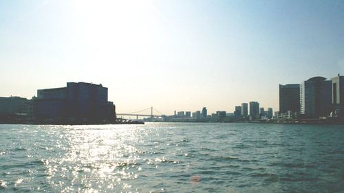 city trip travel sky sun reflection building water japan skyscraper sunrise landscape japanese tokyo nikon raw fav50 orb jp metropolis 169 fav10 fav25 fav100 afsdxvrzoomnikkor1855mmf3556g d3100 nikond3100 flickr:explore=true
