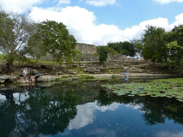 Dzibilchaltunin kaunis cenote