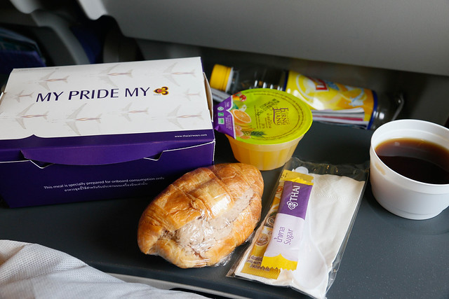 Thai Airways TG202 meal (domestic)