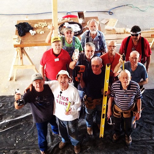 I don't know of a harder working group of old dudes!