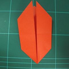 การพับกระดาษเป็นนกพิราบ (Origami pigeon) 00013