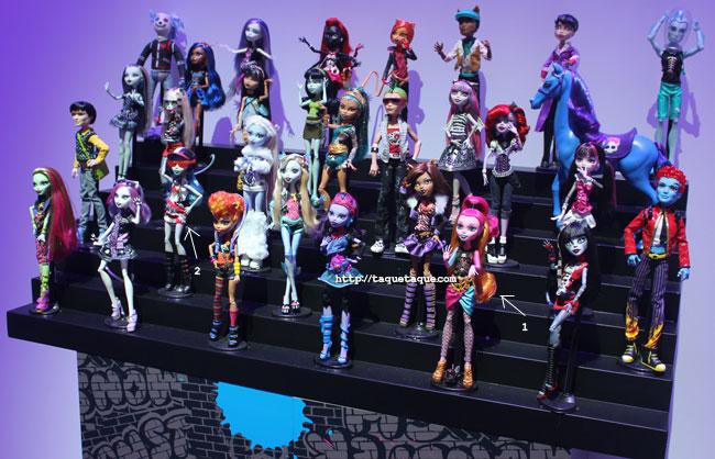 NY Toy Fair 2014 - Muchos de los personajes de Monster High que ya se han convertido en muñecos