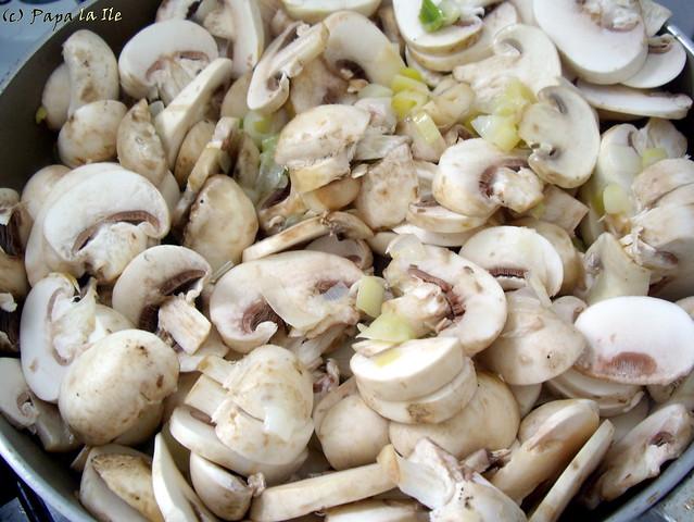 Tarta cu praz si ciuperci (4)