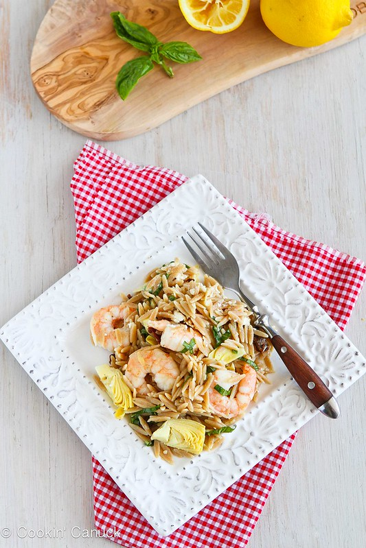 Whole Wheat Pasta Salad With Salmon, Tomatoes & Herb Dressing Recipe ...