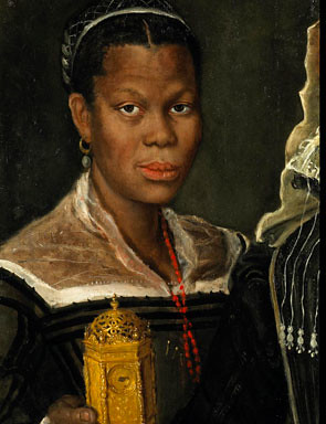 Annibale_Carracci,_attrib.,_Portrait_of_an_African_Slave Woman,_ca._1580s._Oil_on_canvas,_60_x_39_x_2_cm_(fragment_of_a_larger_painting