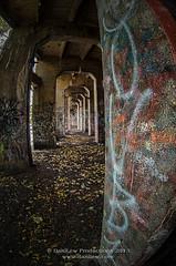 Graffiti Underground Tunnel (fisheye hdr)