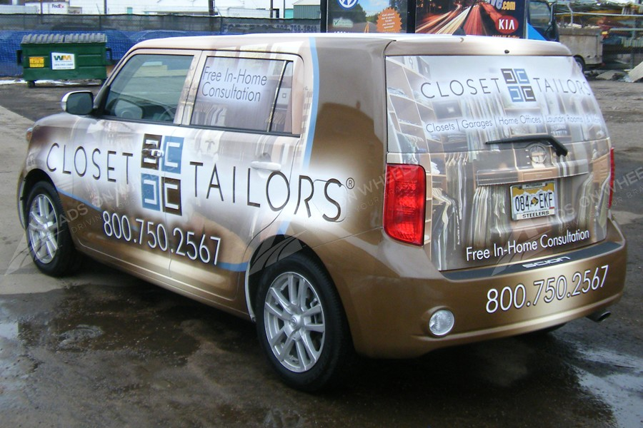 Vehicle Wraps Graphics Vinyl Fleet Large Format Car