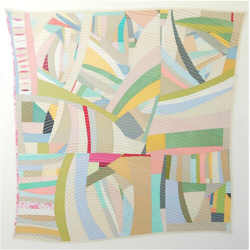 """curve"" / 37"" x 39"" / Lucie Summers"