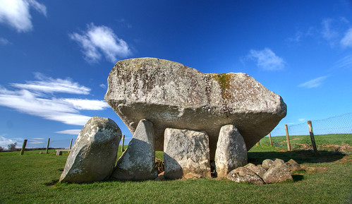 ireland megalithic rock tomb portal dolmen brownshill portaltomb brownshilldolmen backpackphotography