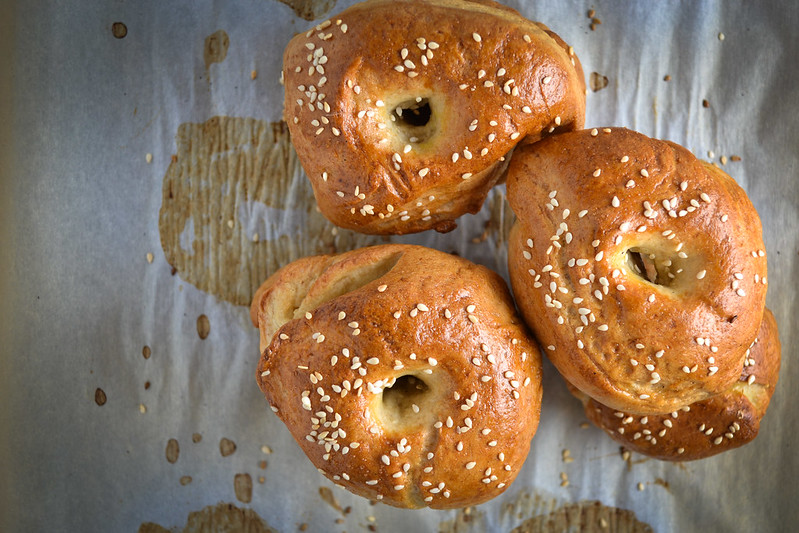 new york style bagels | things i made today