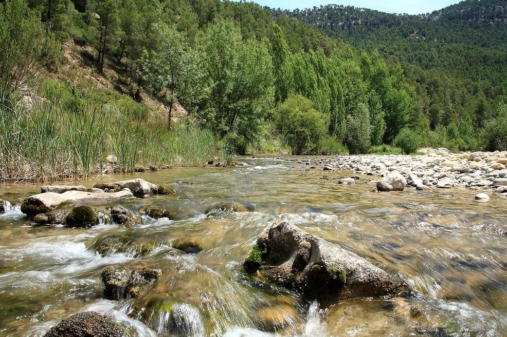 Rio Bergantes. Autor, Tete