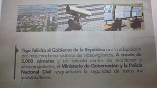 Guatemala: Un Estado de Vigilancia. Parte I