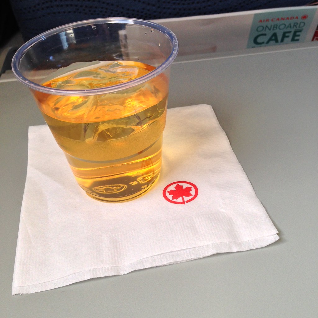 Apple juice for inflight beverage