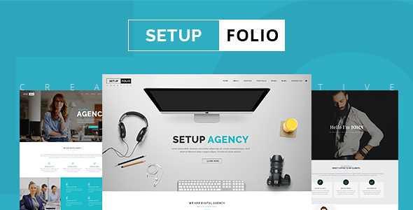 Setup Folio WordPress Theme free download