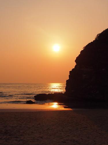 sunset 夕陽 出雲市 稻佐之浜 稲佐の浜