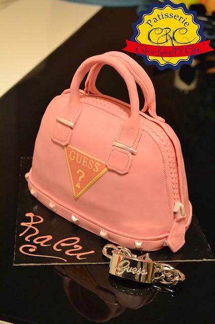 Guess Handbag Cake by Codru Robert's Cakes