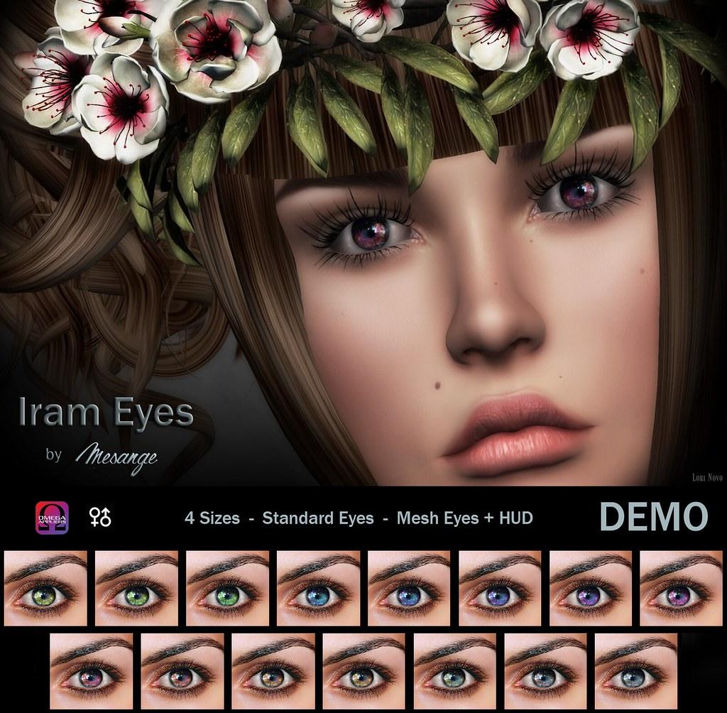 MESANGE - Iram Eyes for On9 - SecondLifeHub.com