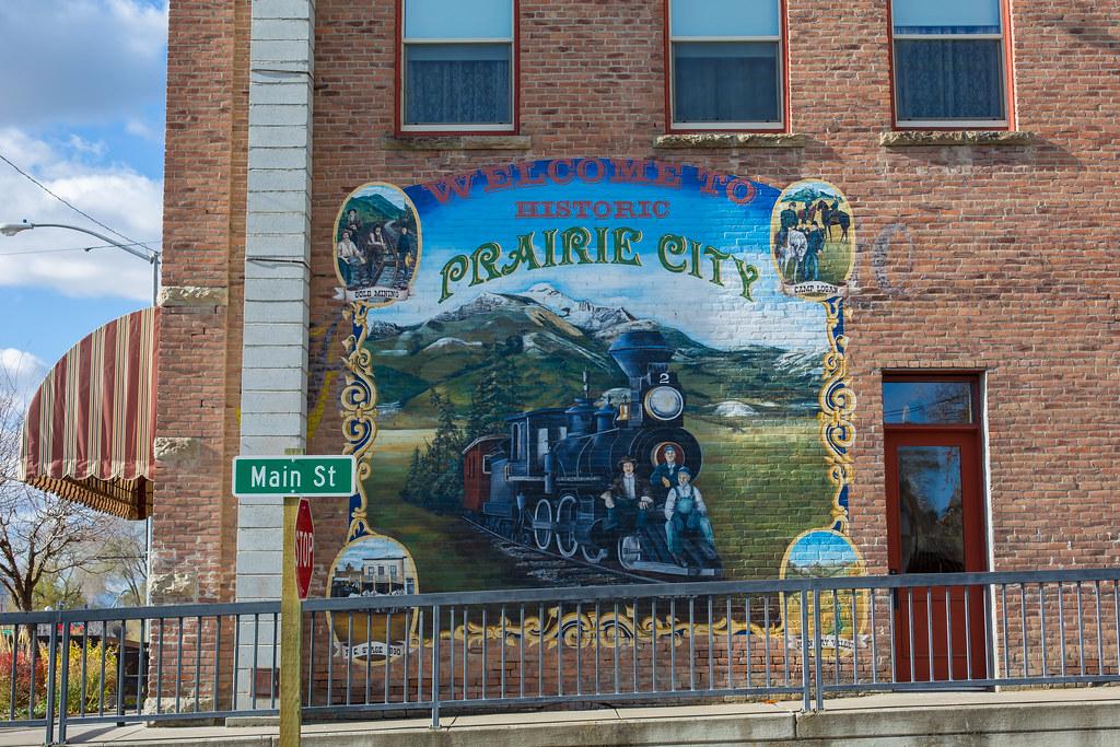 Oregon. Prairie City